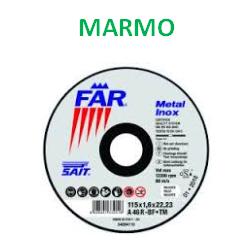 DISCO DA TAGLIO 'SAIT BF-DT' - MM. 115 X 3 X 22 MARMO