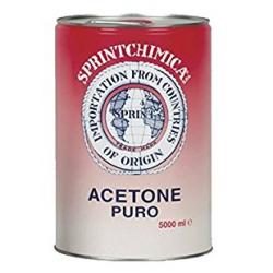 ACETONE PURO 'SPRINTCHIMICA' LT. 5 *