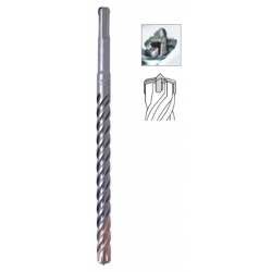 PUNTA SDS-PLUS '4 X 4 SPEEDMASTER' MM. 5 X 160