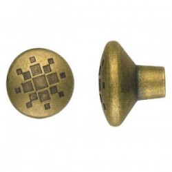 POMOLO ANTICHIZZATO BRONZO ART.8841 MM. 34