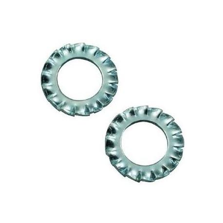 RONDELLE DENTELLATE - M 10 ZINCATE