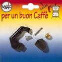 RICAMBIO MANICO + POMOLO PER CAFFETTIERA A 1 TAZZA