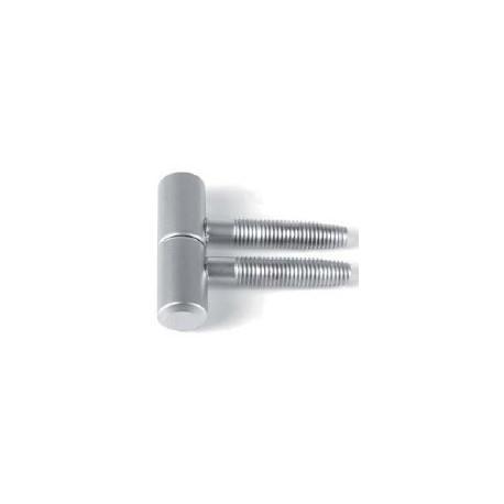 Cod. 8045 Cerniera tipo Anuba cromata diametro 13
