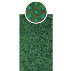 cod. E6633 Tappeto CRICKET verde larghezza cm. 200