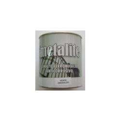 """Cod. 11432 Smalto ferromicaceo Metalite """"GRIGIO ACCIAIO"""" ml. 2,5"""