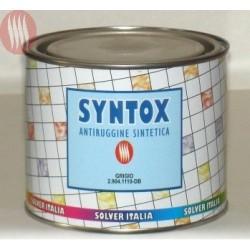 "Cod. 29041110 Antiruggine sintetica ""SYNTOX"" col. ""GRIGIO"" LT. 0,500"