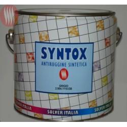 """Cod. S29041111 Antiruggine sintetica """"SYNTOX"""" col. """"ROSSO"""" LT. 2,5"""