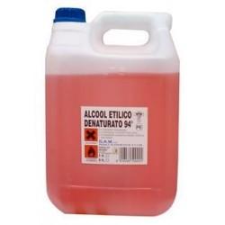 ALCOOL ETILICO DENATURATO AL 94DA LT. 5