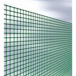 RETE PLASTIFICATA/ZINCATA 12 X 12 - H 100 - FILO 1,2 - MT. 25