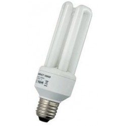 LAMPADA COMPACT 'BEGHELLI' E27 - 20 W - LUCE CALDA *