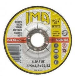 DISCO 'IMA' 115 X 3,2 X 22 FERRO *