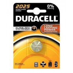 BATTERIA 'DURACELL' A BOTTONE CR 2025 - 3 V