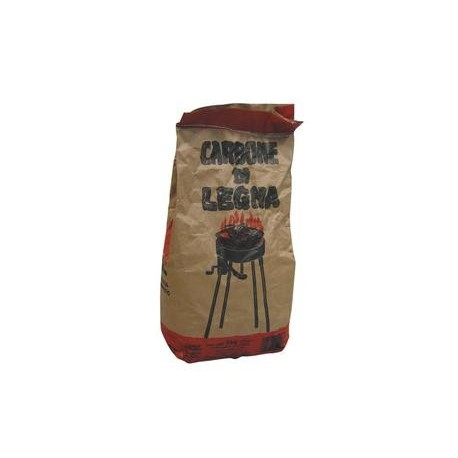 CARBONE DI LEGNA DA KG. 2,8 CIRCA *