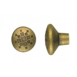 POMOLO ANTICHIZZATO BRONZO ART.8842 MM. 28