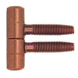 Cod. 3179 Cerniera tipo Anuba bronzata diametro 16