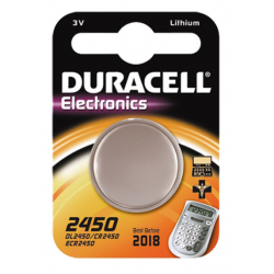 BATTERIA 'DURACELL' A BOTTONE CR 2450 - 3 V