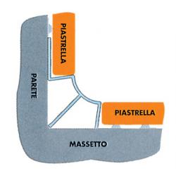 SGUSCIO PER PIASTRELLE IN PVC MM. 8 X CM. 260