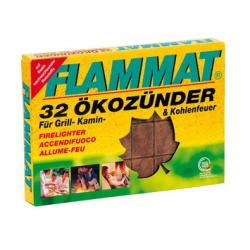 ACCENDIFUOCO ECOLOGICO 'FLAMMAT' PZ. 32