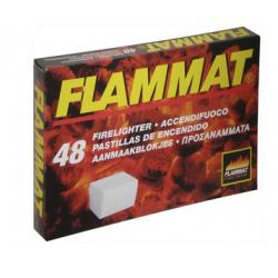 ACCENDIFUOCO 'FLAMMAT' A CUBETTI PZ. 48