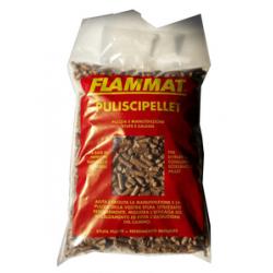 SPAZZASTUFA 'FLAMMAT' PER STUFEA PELLET - KG. 2